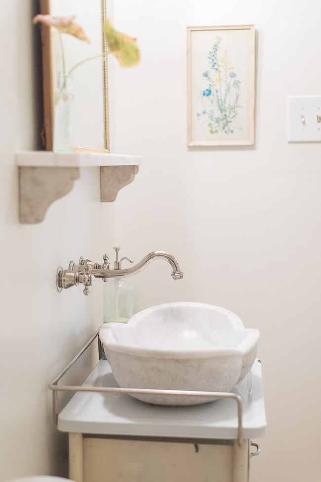 Save French Cottage Bathroom Inspiration Tidbits