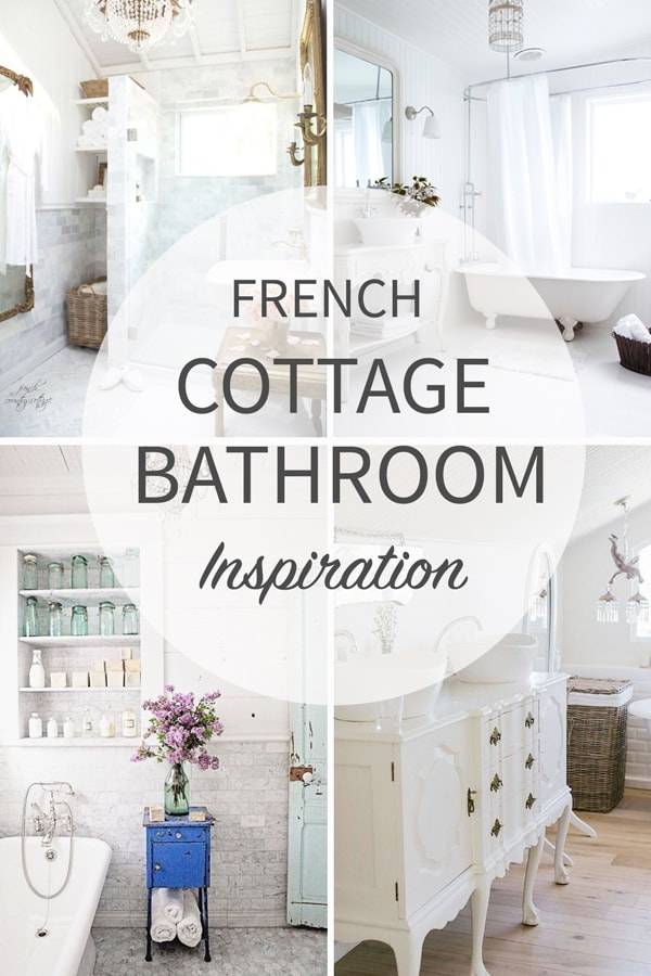 Extra Long Desk Table, French Cottage Bathroom Inspiration Tidbits