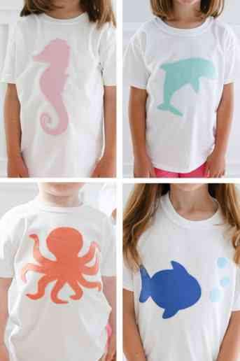 Easy No Sew Applique T-Shirts