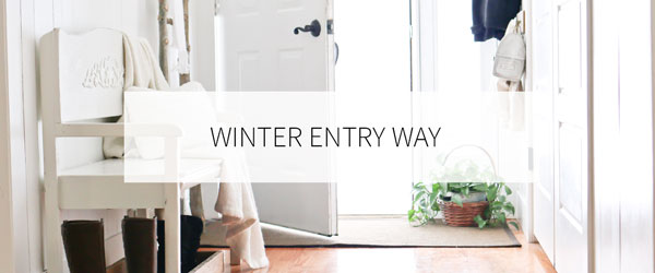 WINTER ENTRY WAY