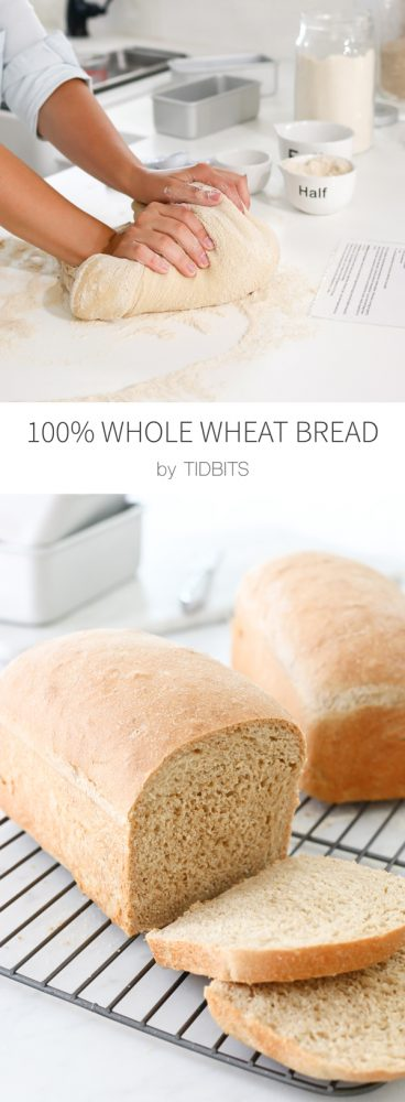 Coming home to homemade bread + my favorite 100% Whole Wheat Bread Recipe