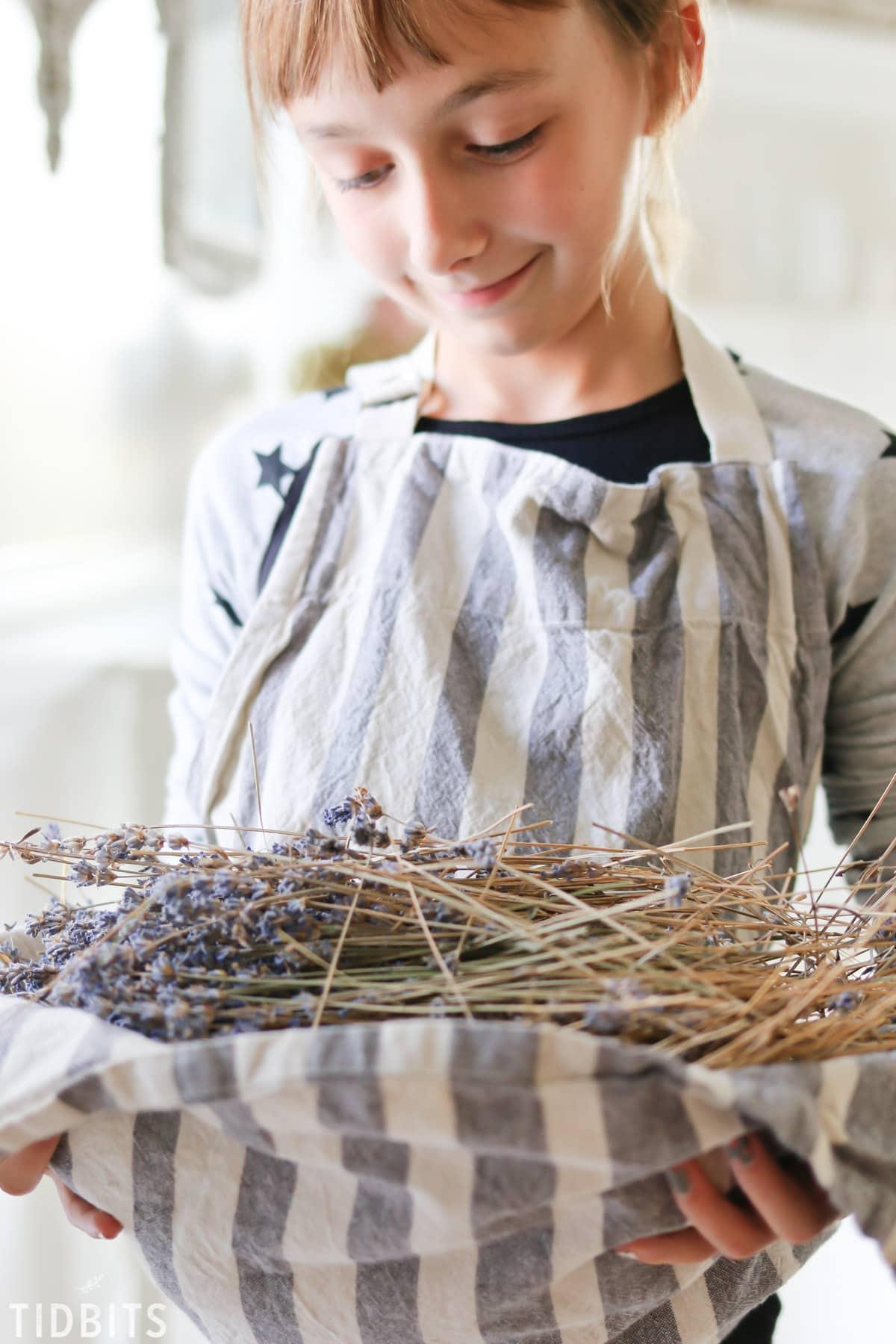 20+ Ways to enjoy a Lavender Harvest.