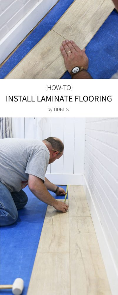 How to install laminate flooring   Tips, tricks and why it is so great!