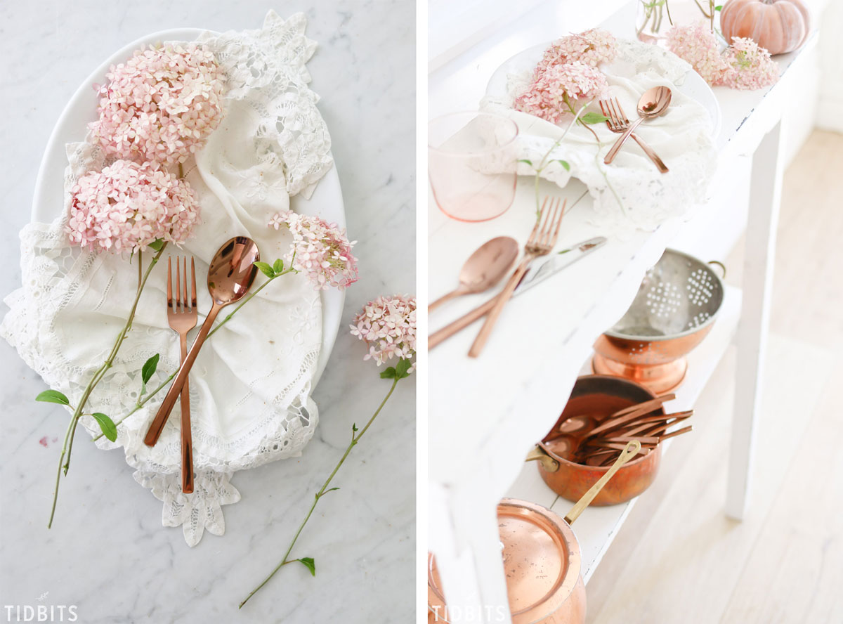 Creative Fall Color Scheme | Blush Pink and Copper