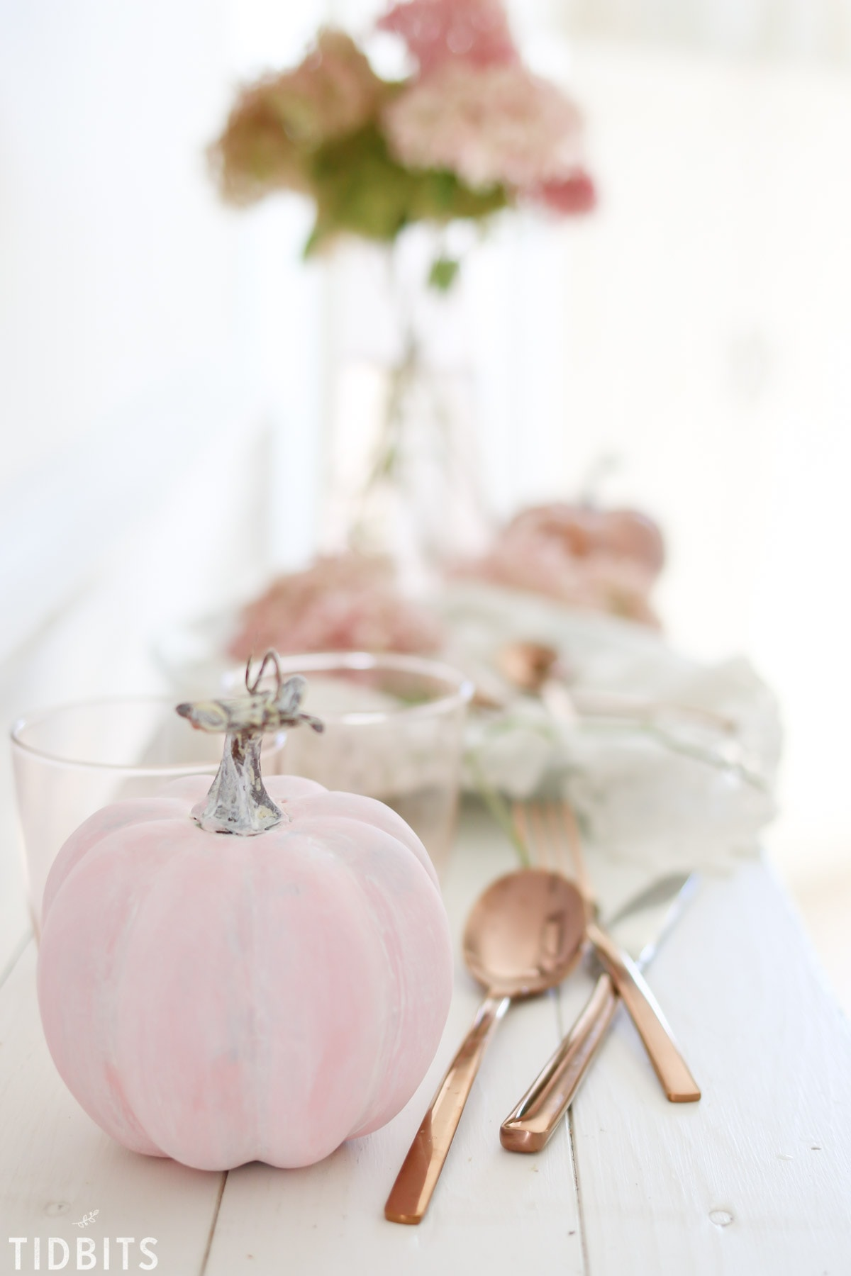 Fall Color Scheme Blush Pink And Copper Tidbits