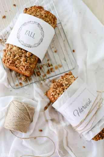 Bread Wrap Free Printables