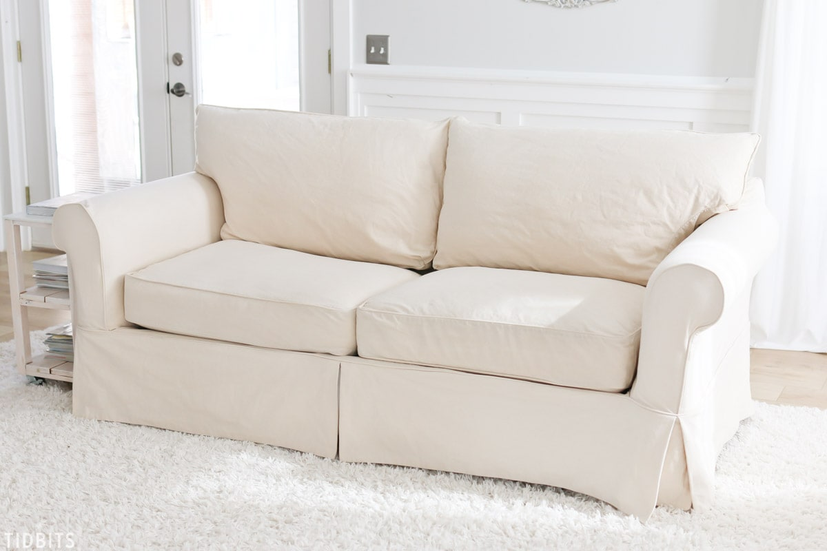 Picture of: Tips And Tricks For Cleaning Slipcovers Tidbits