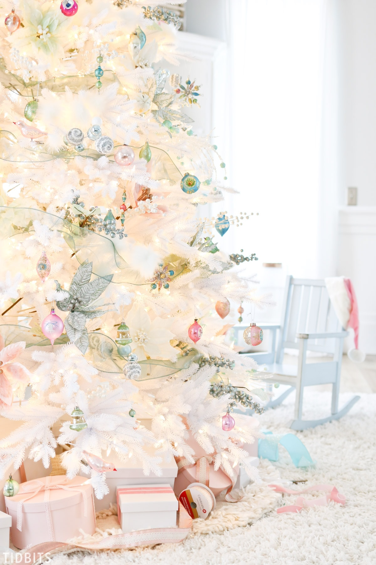 TIDBITS Colorful Christmas Tree | Balsam Hill 12 Bloggers of Christmas