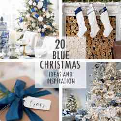 A Blue Christmas Ideas and Inspiration