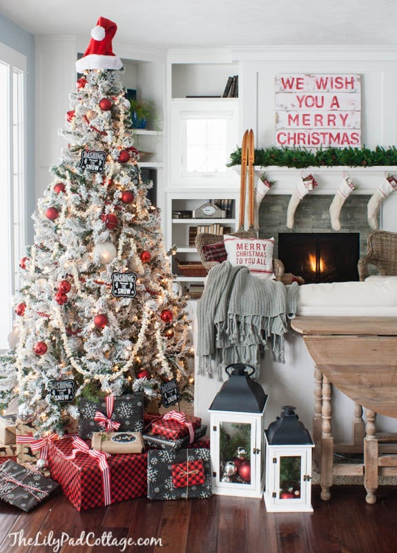 plaid christmas decor - Plaid Christmas Decor