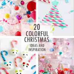 Colorful Christmas Ideas and Inspiration