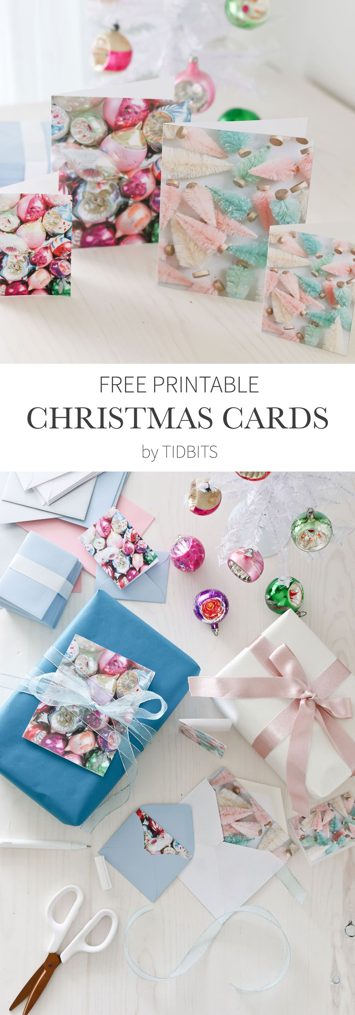 picture regarding Printable Photo Christmas Card identify Cost-free Printable Vibrant Xmas Playing cards - Tidbits