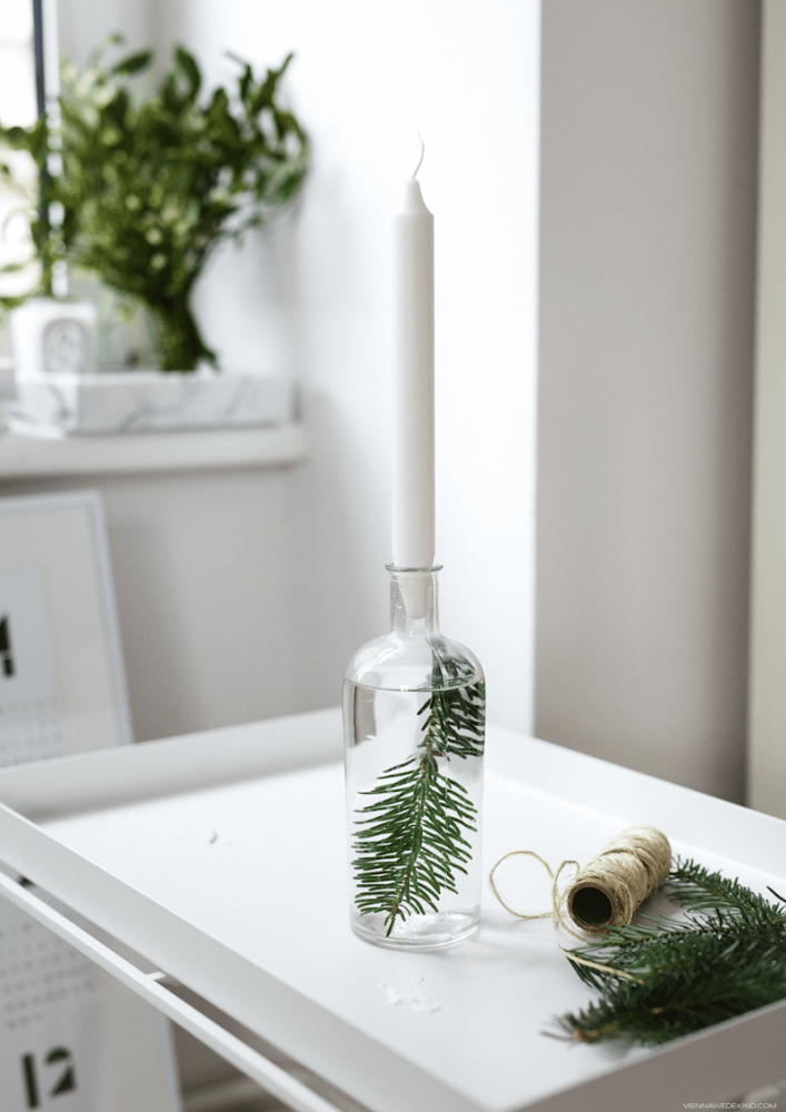 Simple Candle Holder, Scandinavian Style