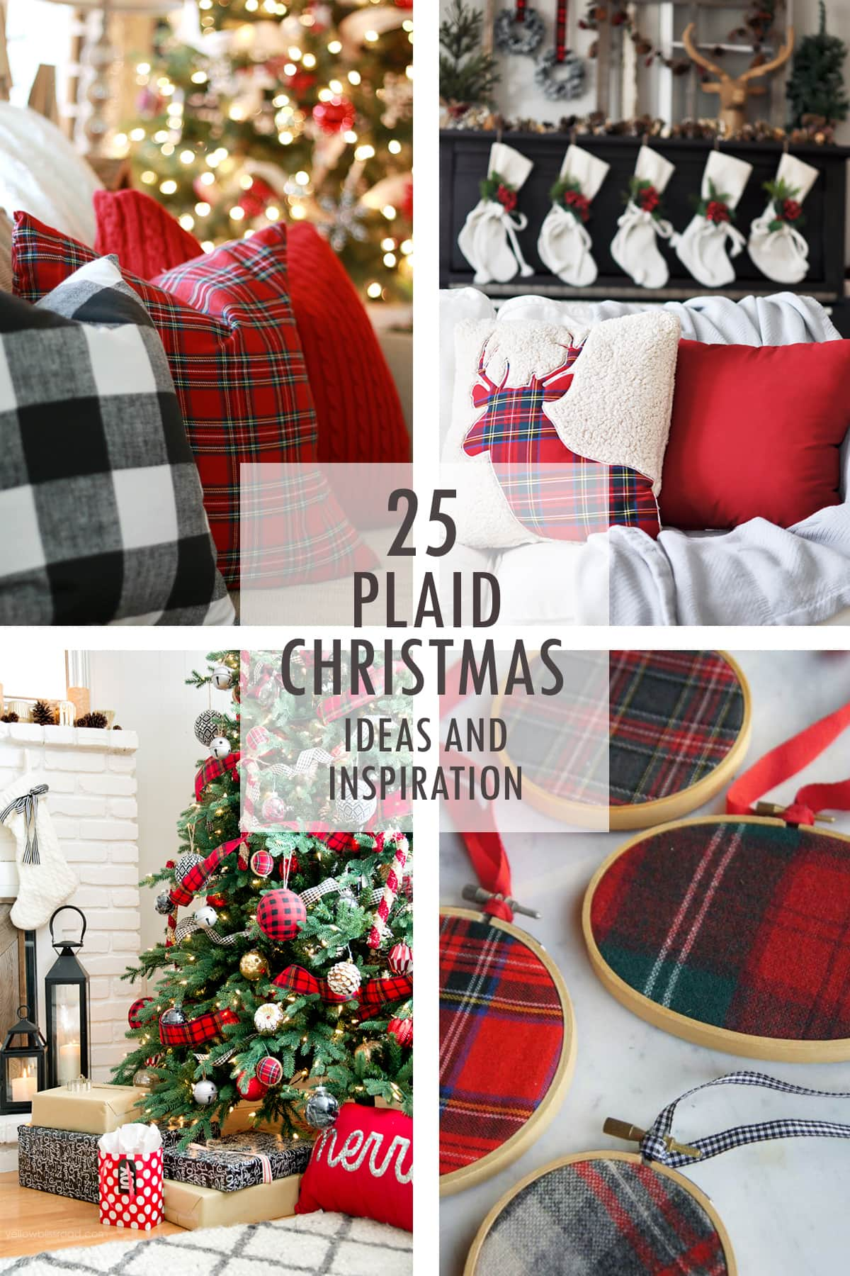 plaid christmas ideas - Christmas Plaid