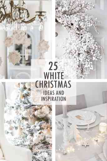 A White Christmas Ideas and Inspiration
