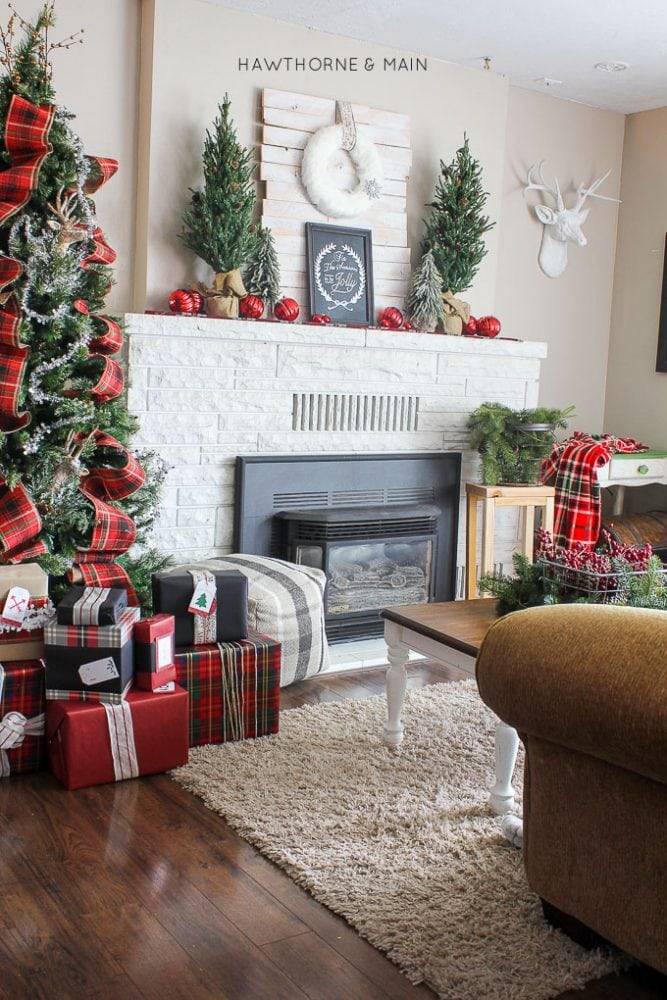plaid christmas - Plaid Christmas Decor
