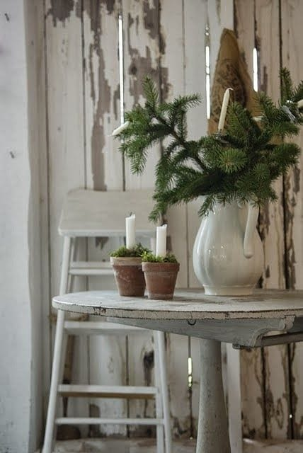 rustic farmhouse winter