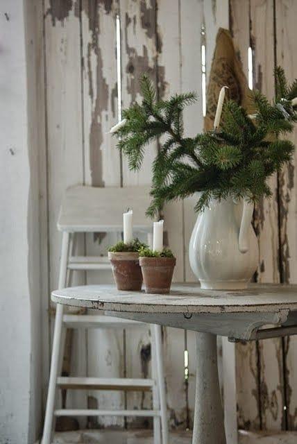 rustic farmhouse winter