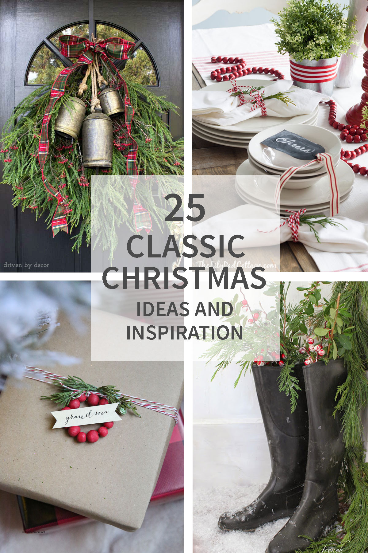 25 Classic Christmas Ideas and Inspiration