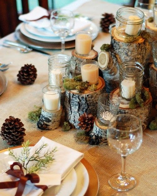 rustic and woodsy christmas