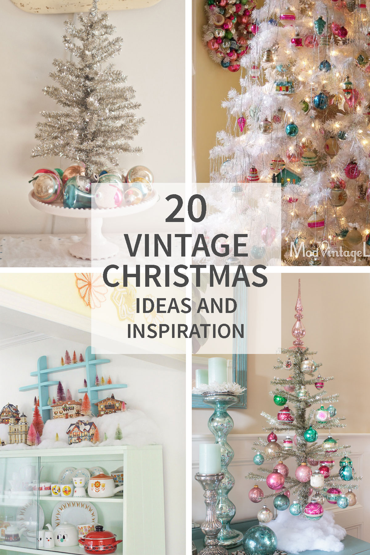 Vintage Christmas Ideas and Inspiration - Tidbits