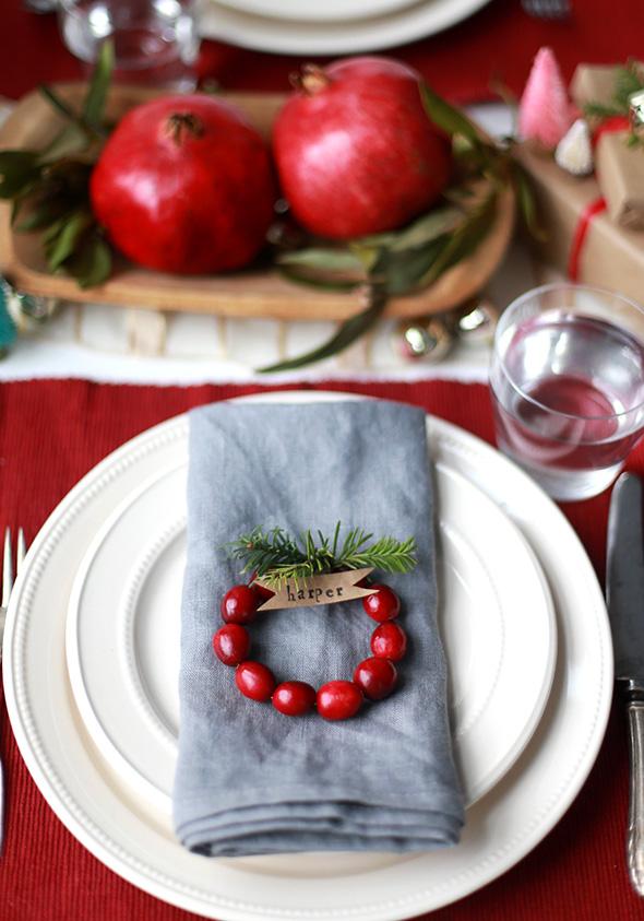 Cranberry Wreaths