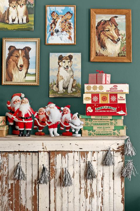 Vintage Santa Mix