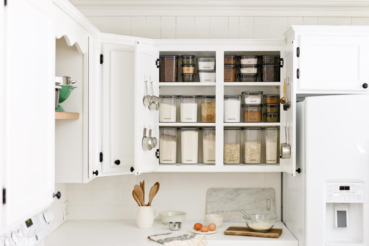 Baking Cupboard Organization by TIDBITS