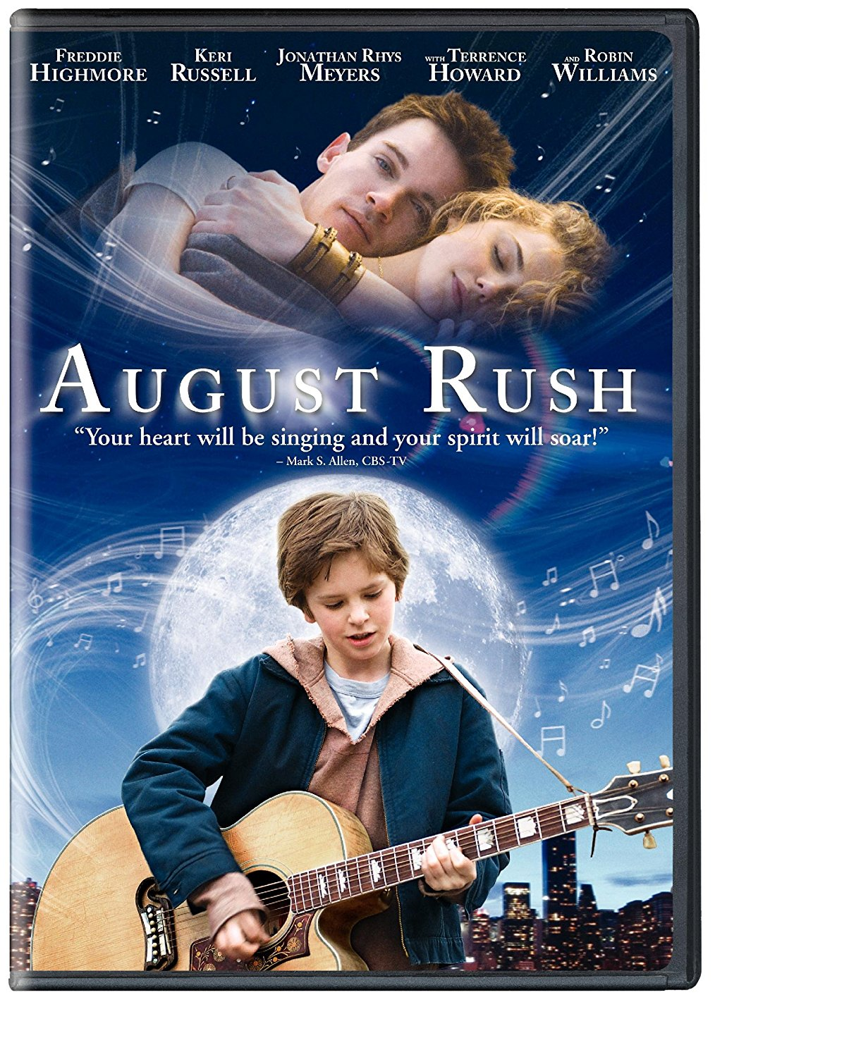 August Rush, a clean inspiring movie on Netflix