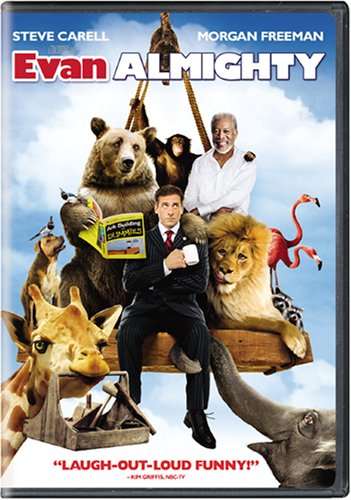 Evan Almighty, a clean inspiring movie on Netflix