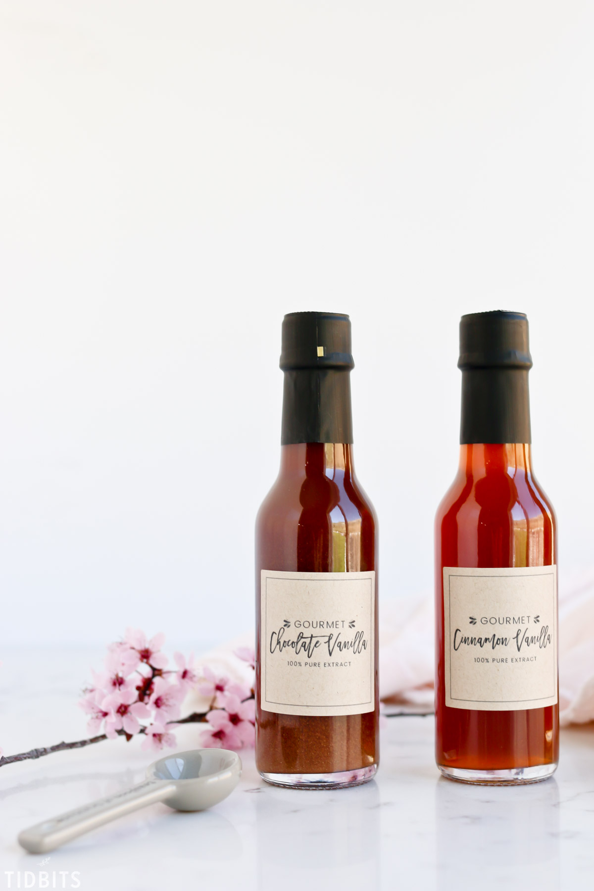 Gourmet Vanilla Extract Labels