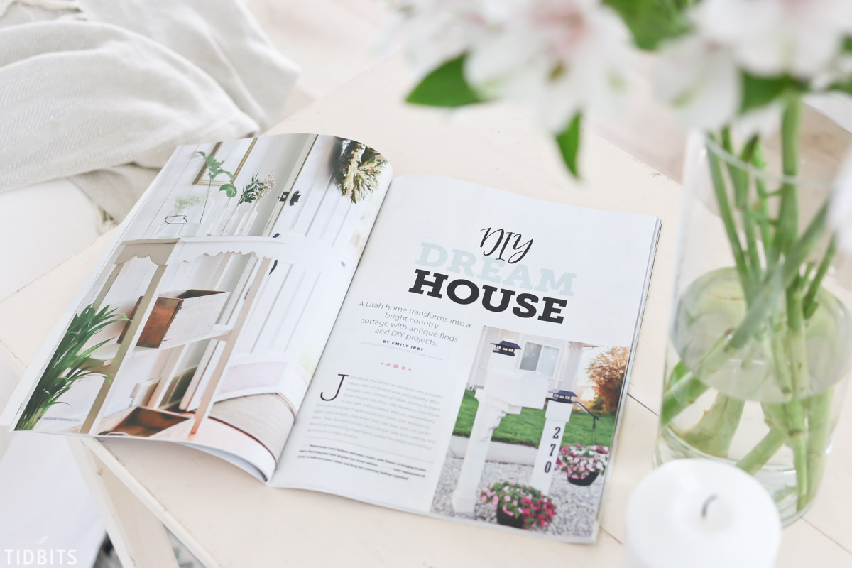 American Farmhouse magazine home feature
