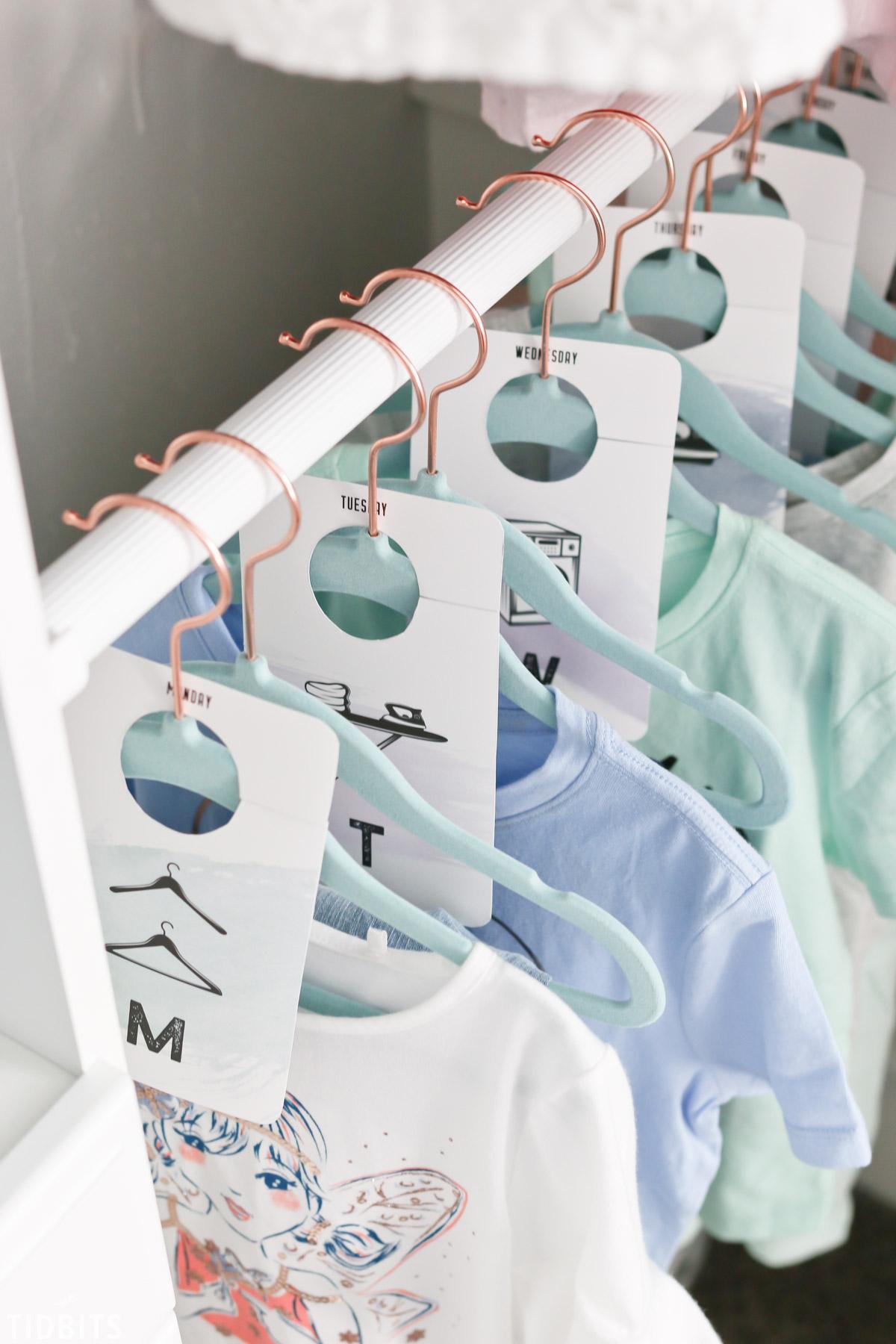 printable closet dividers