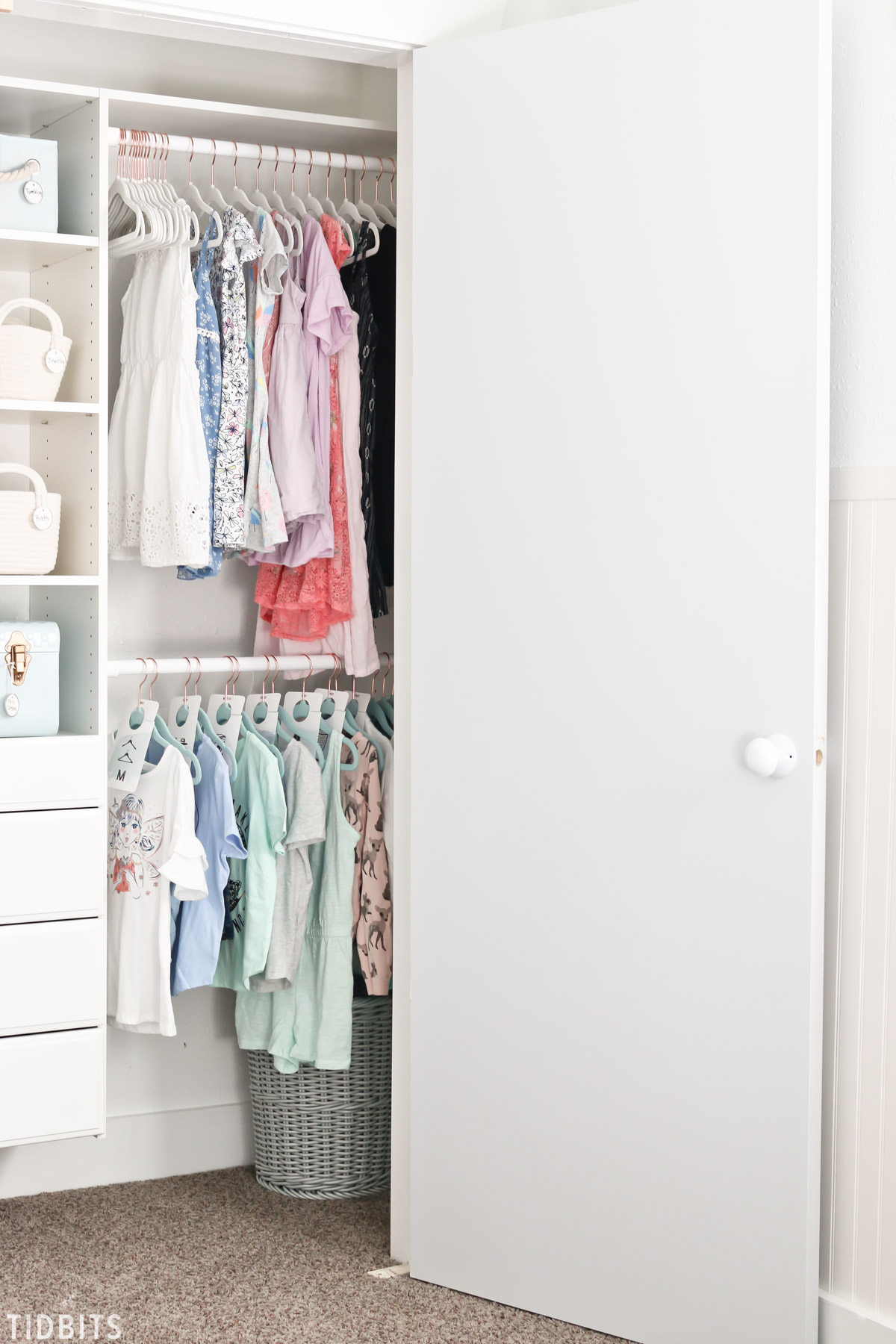 8 tips for better kids closet organization