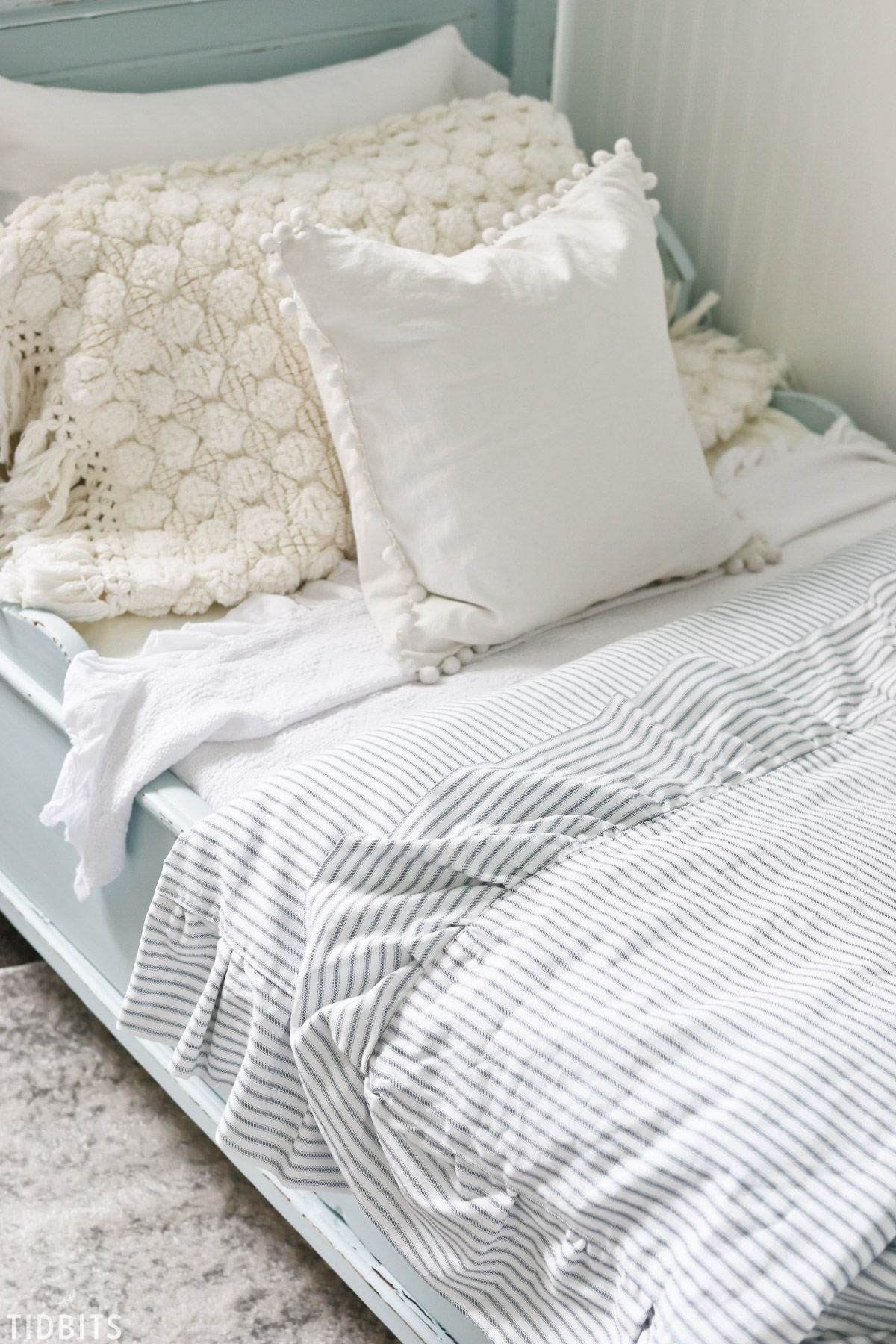 Diy Ruffled Duvet Cover Tidbits