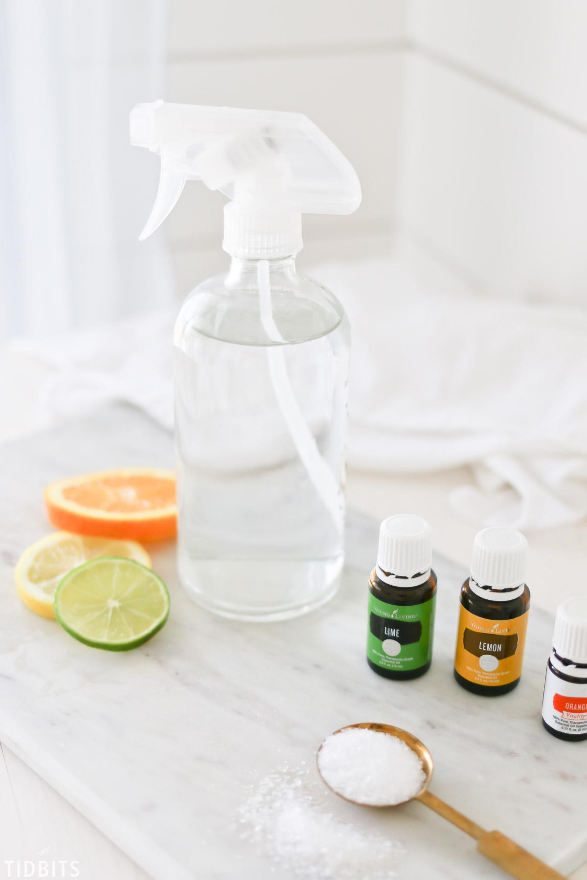 Natural Room Spray Using Essential Oils