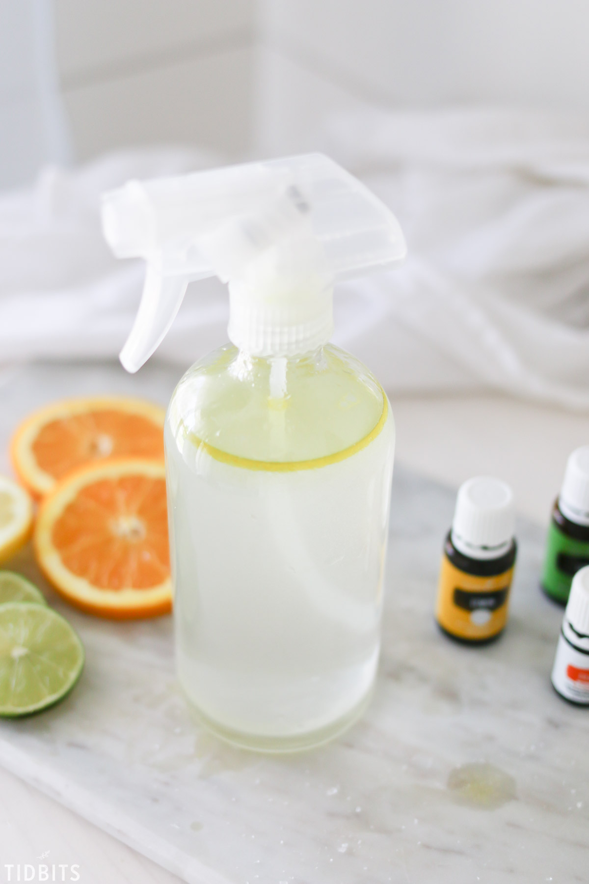 All Natural Essential Oil Citrus Room Spray Tidbits