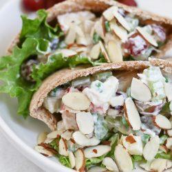 Healthy Chicken Salad Recipe with Yogurt Dressing