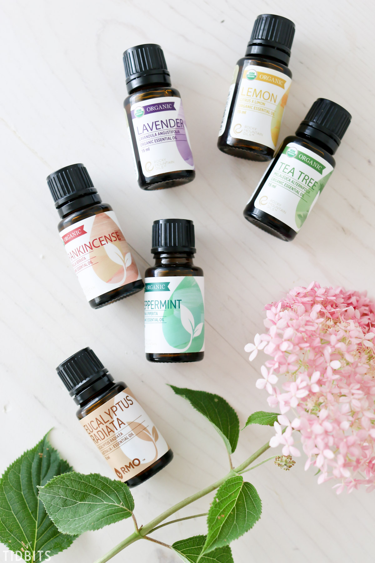 Make Room Spray Using Essential Oils