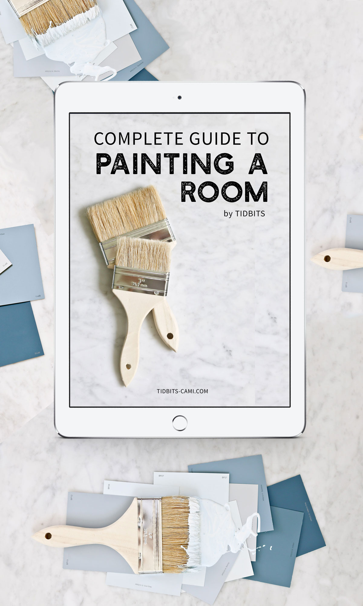 Complete guide to painting a room with TIDBITS