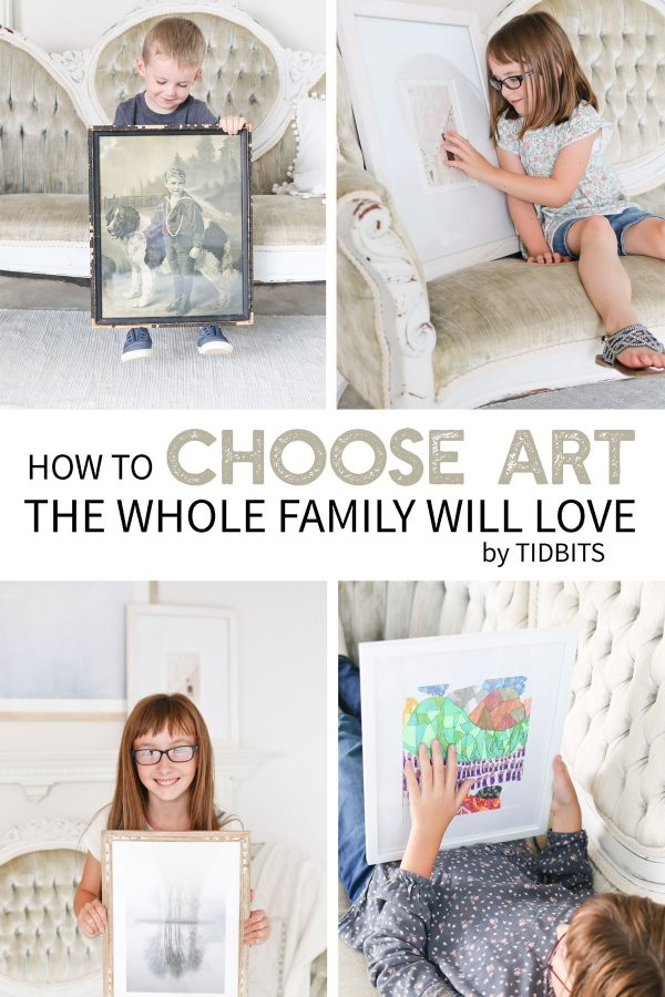 how to choose art the whole family will love