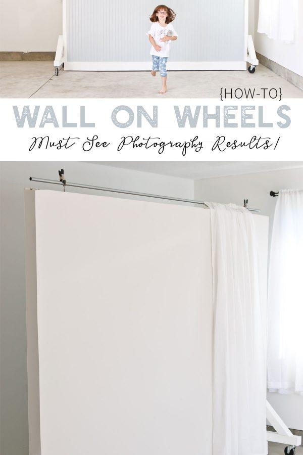 WALL ON WHEELS PHOTOGRAPHY STUDIO BACKDROP