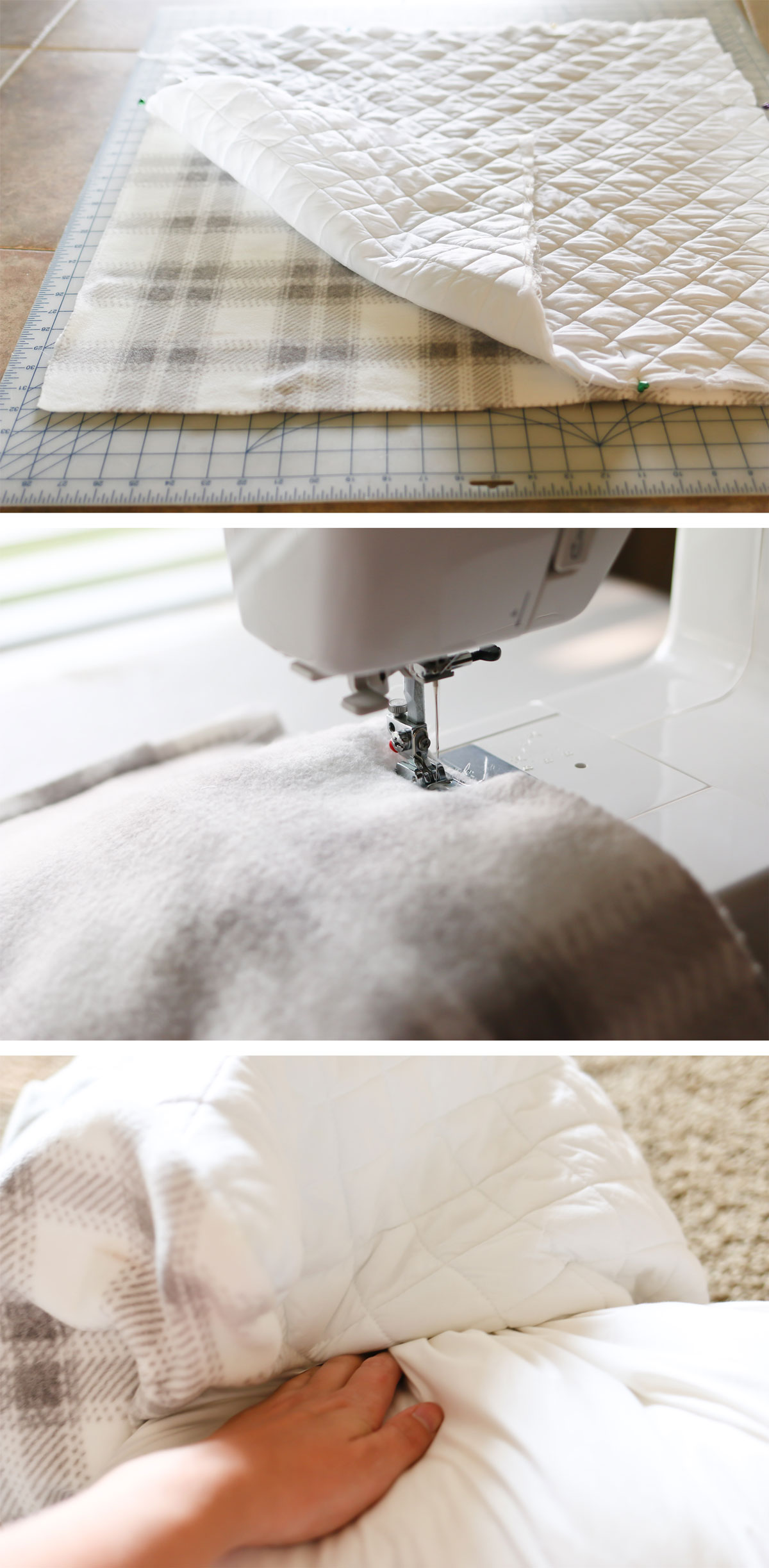sewing tutorial for pillow
