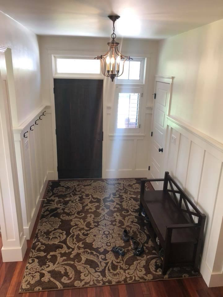 entryway and foyer