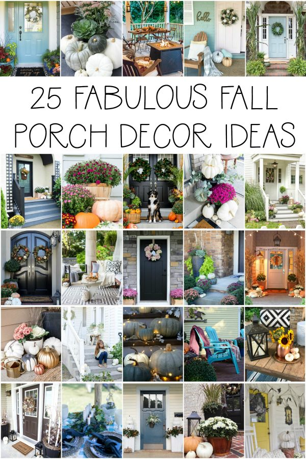 25 Fall porch decorating ideas