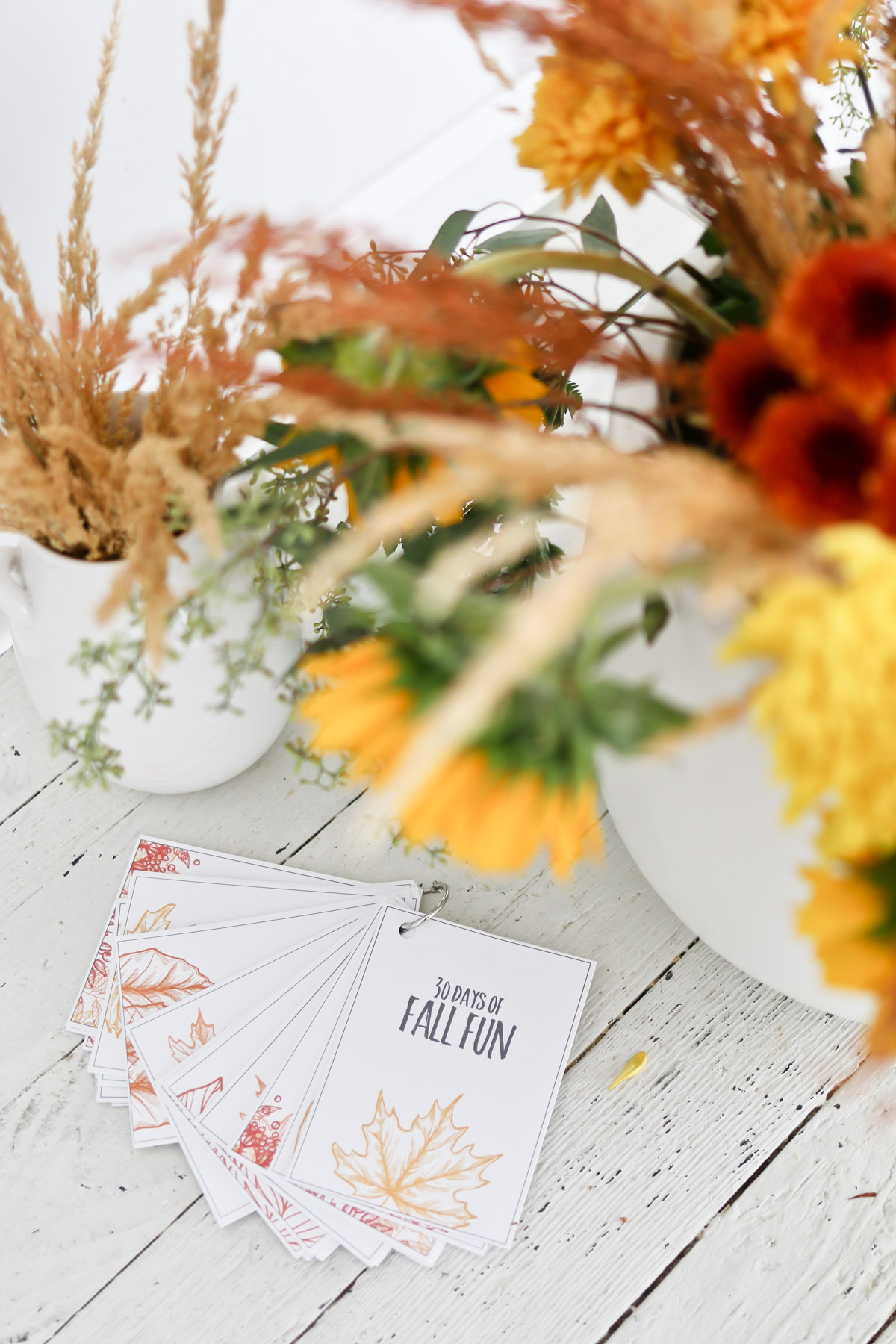 30 Days of fall fun free printables
