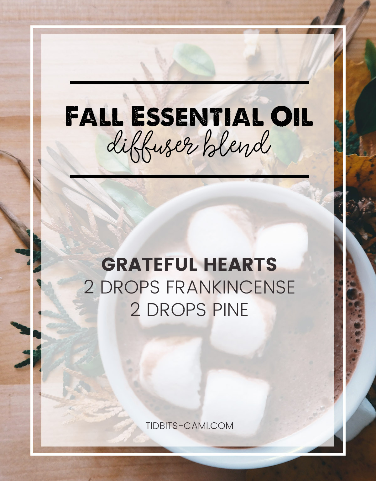 Grateful hearts essential oil diffuser blend