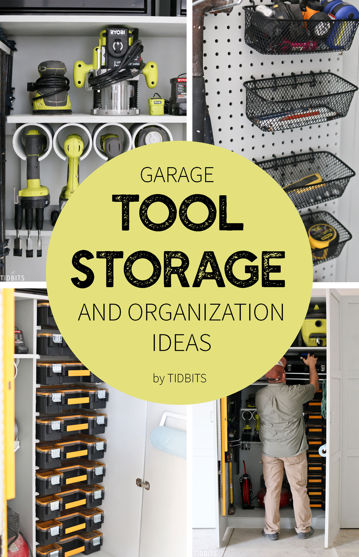 Garage Tool Storage And Organization Ideas