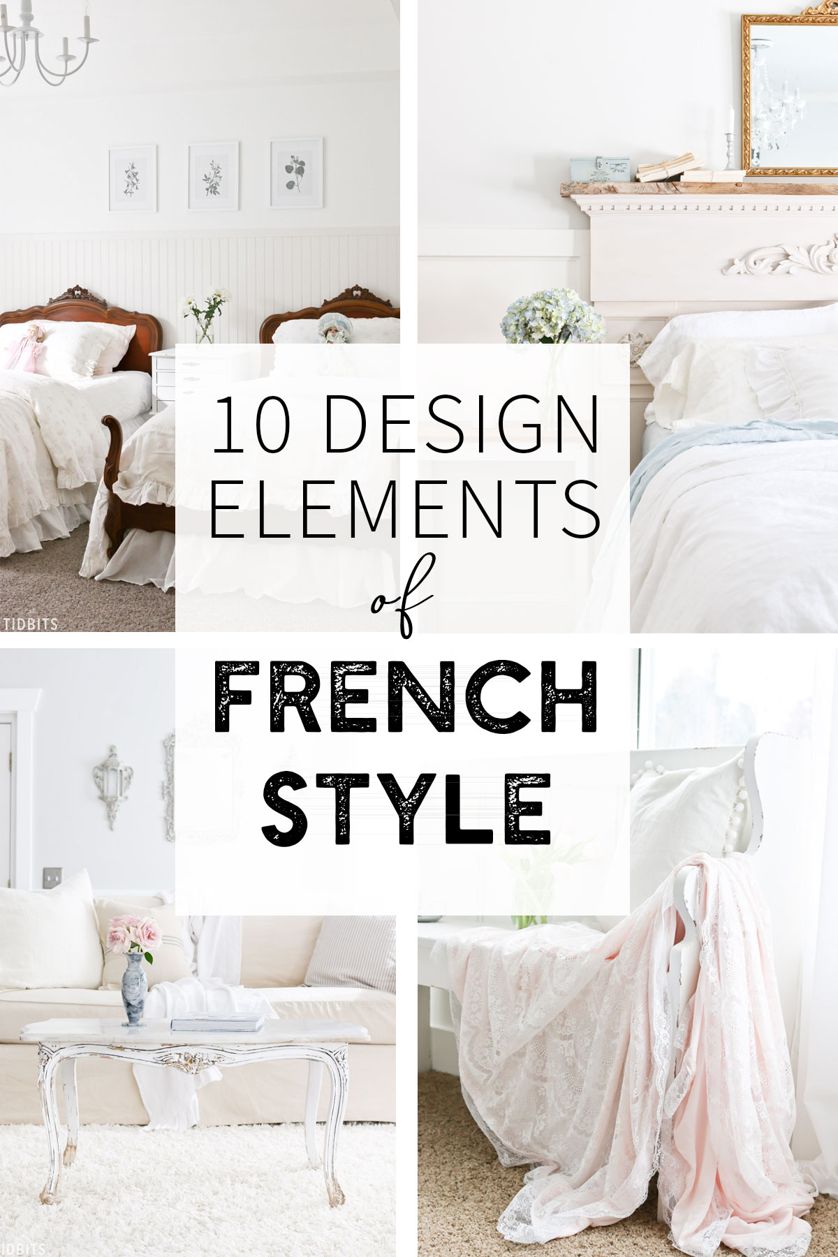 10 design elements of french style