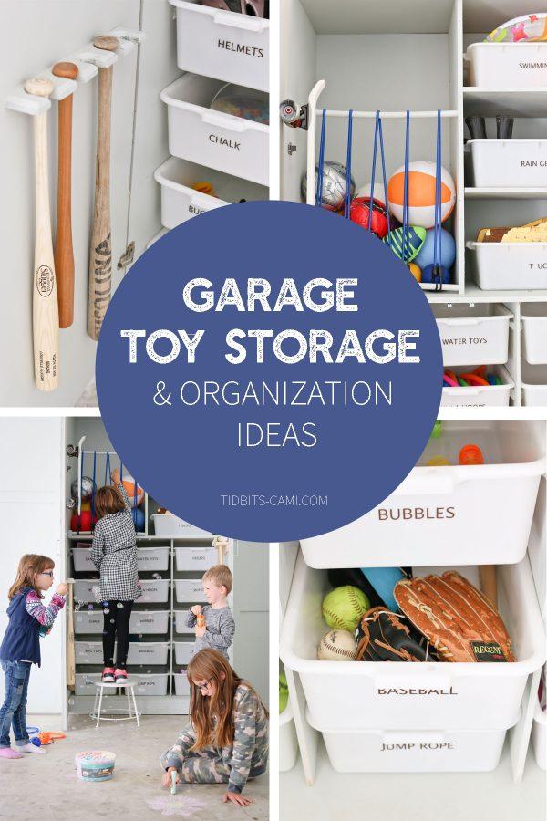 Garage Toy Storage Organization